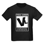 Visual Learner Kids Dark T-Shirt