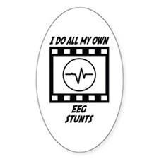 EEG Stunts Oval Decal