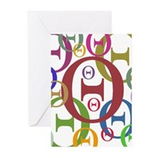 Theta Greeting Cards (Pk of 10)