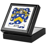 Leroy Family Crest Keepsake Box