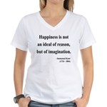 Immanuel Kant 6 Women's V-Neck T-Shirt