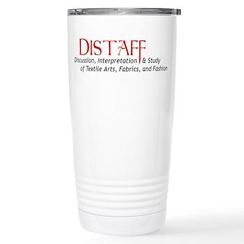 DISTAFF Stainless Steel Travel Mug