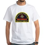 Dallas PD Mason White T-Shirt