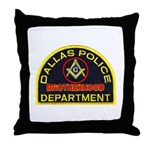 Dallas PD Mason Throw Pillow