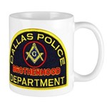 Dallas PD Mason Mug