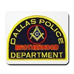 Dallas PD Mason Mousepad