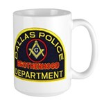 Dallas PD Mason Large Mug
