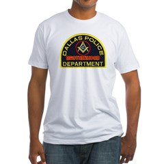 Dallas PD Mason Fitted T-Shirt