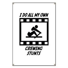 Crewing Stunts Banner