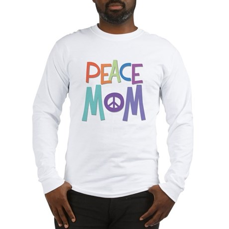 Peace Mom Men's Long Sleeve T-Shirt