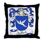 Maillard Family Crest Throw Pillow