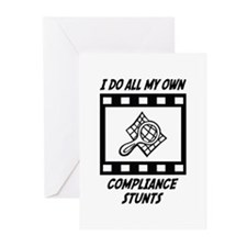 Compliance Stunts Greeting Cards (Pk of 20)