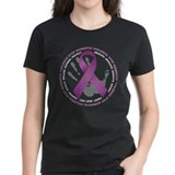 Stop Domestic Violence Ribbon Tee