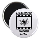 Cleaning Stunts Magnet