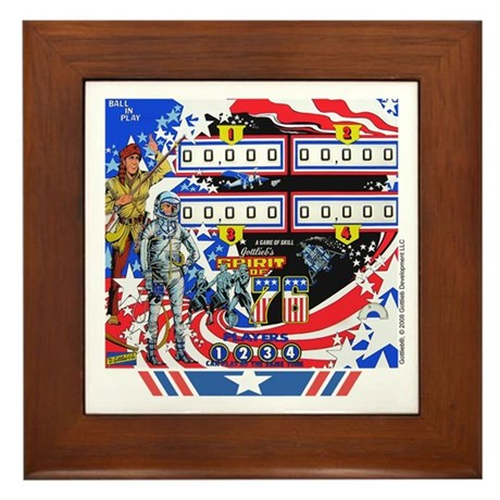 Gottlieb&reg; &quot;Spirit of 76&quot; Framed Tile