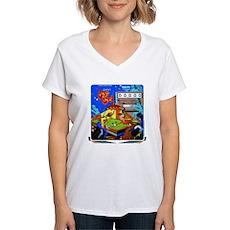"""Gottlieb® """"Sure Shot"""" Women's V-Neck T-Shirt"""