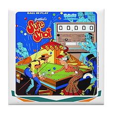 "Gottlieb® ""Sure Shot"" Tile Coaster"
