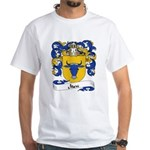 Marc Family Crest White T-Shirt