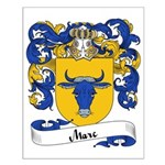 Marc Family Crest Small Poster