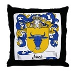Marc Family Crest Throw Pillow