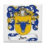 Marc Family Crest Tile Coaster