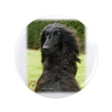 "Afghan Hound 9T072D-081 3.5"" Button (100 pack)"