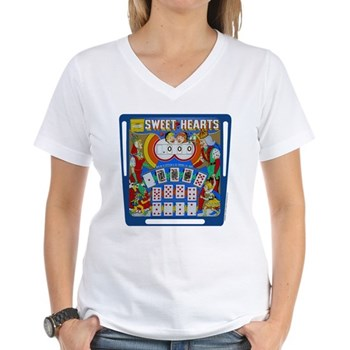 "Gottlieb® ""Sweet Hearts"" Women's V-Neck T-Shir"