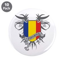 """Romania Winged 3.5"""" Button (10 pack)"""