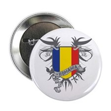 "Romania Winged 2.25"" Button"
