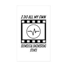 Biomedical Engineering Stunts Rectangle Sticker 5