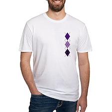 Purple Plaid Argyle Shirt