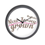 Organic! New Jersey Grown! Wall Clock