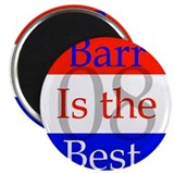 "barr knows best 2.25"" Magnet (100 pack)"