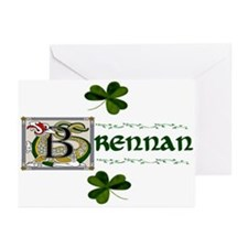 Brennan Celtic Dragon Greeting Cards (Pk of 10