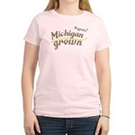 Organic! Michigan Grown! Women's Light T-Shirt