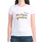 Organic! Michigan Grown! Jr. Ringer T-Shirt