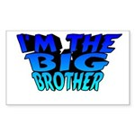 I'm The Big Brother Rectangle Sticker