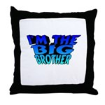 I'm The Big Brother Throw Pillow
