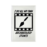 Archaeology Stunts Rectangle Magnet (100 pack)
