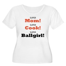 Tammy Averill tshirt super girl Plus Size T-Shirt