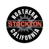 Stockton California 3.5&quot; Button
