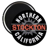 "Stockton California 2.25"" Magnet (10 pack)"