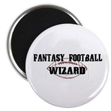 "Fantasy Football Wizard 2.25"" Magnet (10 pack)"