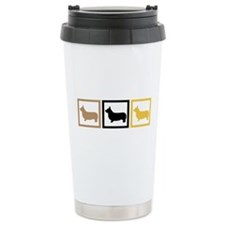 Corgi Ceramic Travel Mug