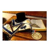 Worshipful Master Postcards (Package of 8)