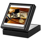 Worshipful Master Keepsake Box
