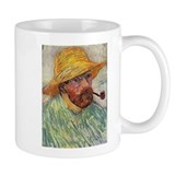 Self Portrait with Hat and Pipe Mug