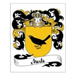 Merle Family Crest Small Poster