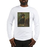 Self Portrait with Easel Long Sleeve T-Shirt