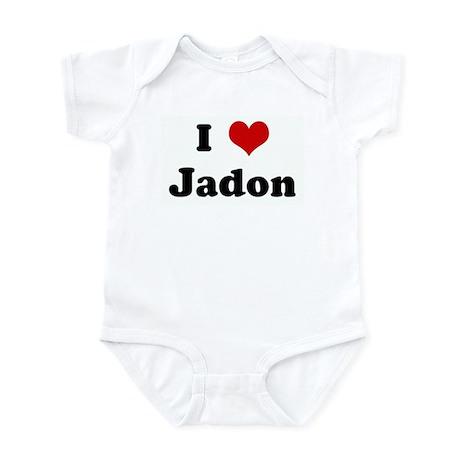 I Love Jadon Infant Bodysuit